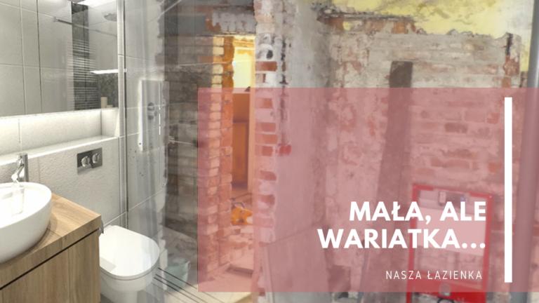 Mała alewariatka…nasza łazienka